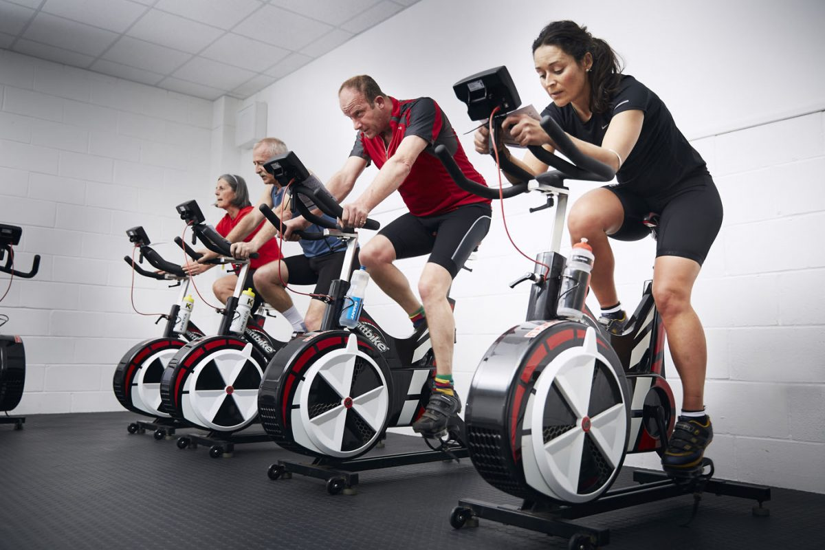 small group training spinning class