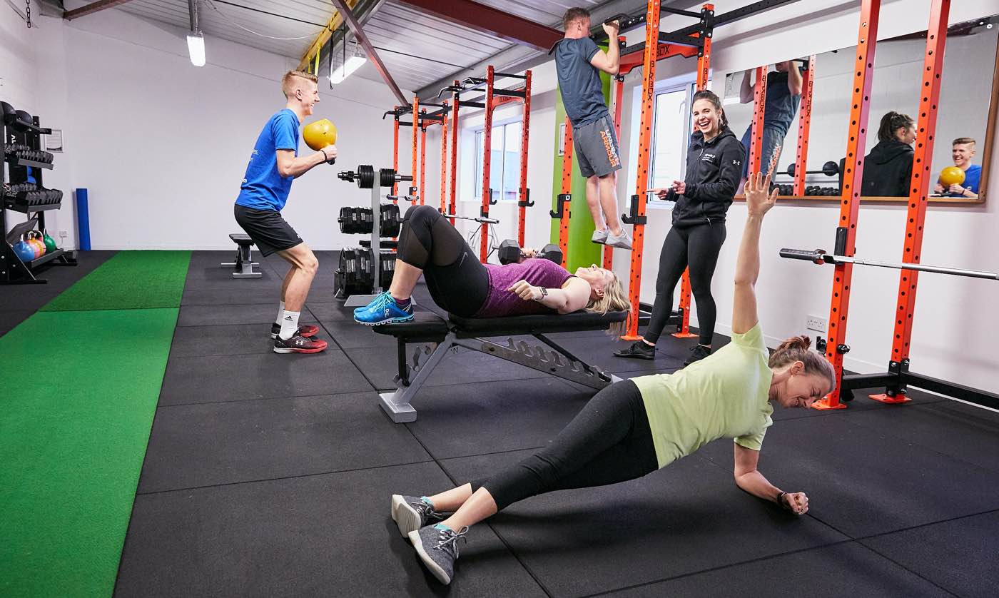 Personal Training At Ady Watts Hereford with female personal trainer