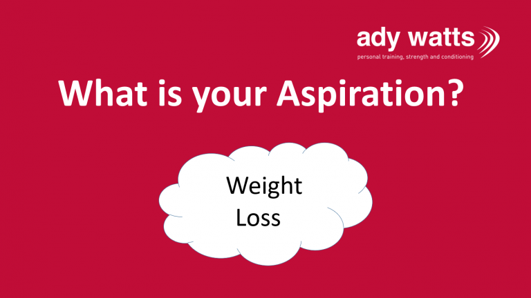 What is your aspiration?